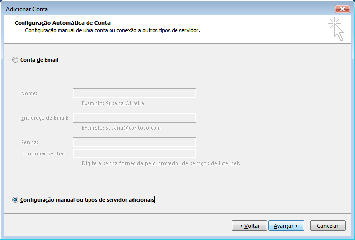 outlook 2013 configurar