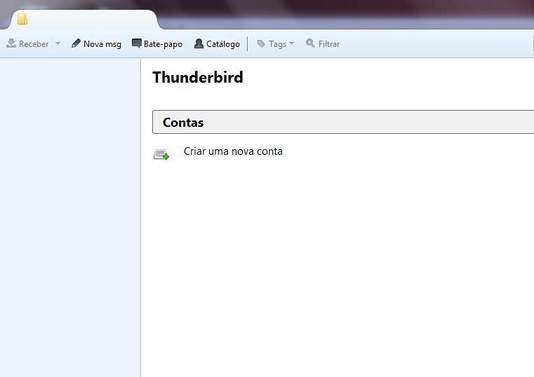 thunderbird configurar