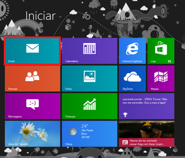 Como configurar o windows 8